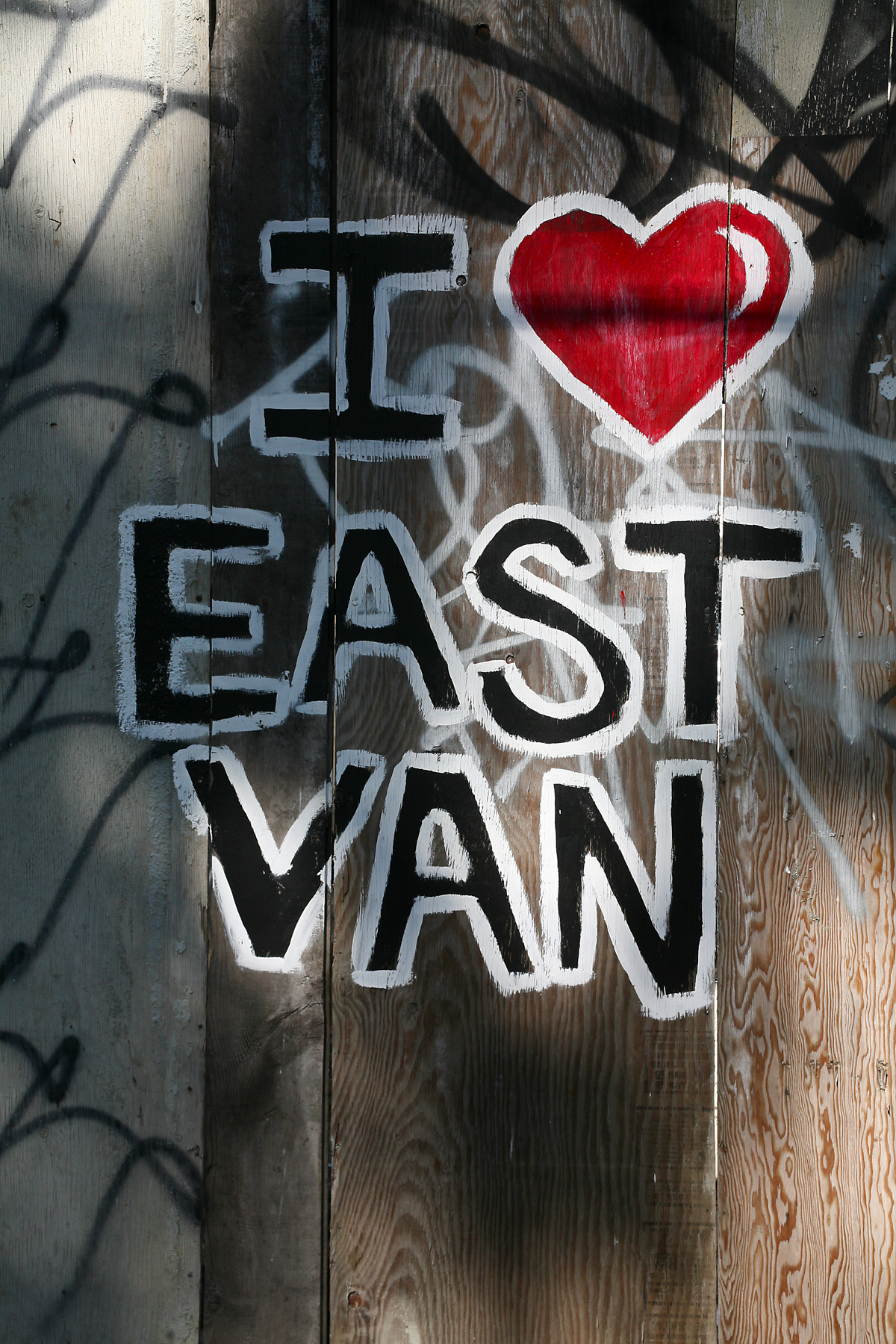I Love East Van- Close.