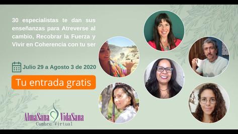 Cumbre virtual AlmaSana VidaSana