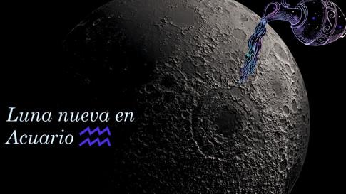 Encuentro de Luna Nueva en Acuario 11 de febrero de 2021