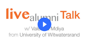 Talk | Valencia Mdiya, University of Witwatersrand