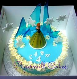 Anna - Frozen Fondant Cake