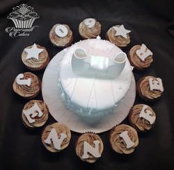 White Cake and Cupcakes