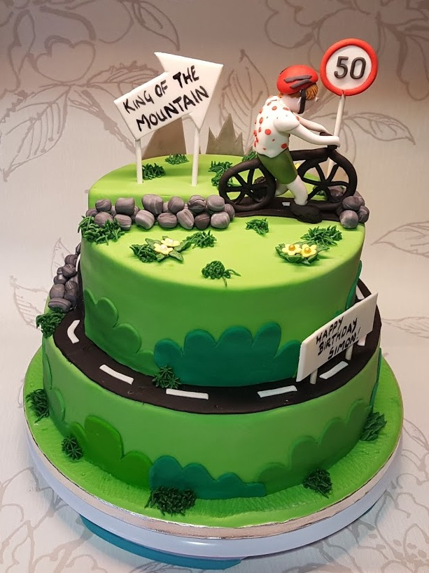 Tour de France Themed Cake
