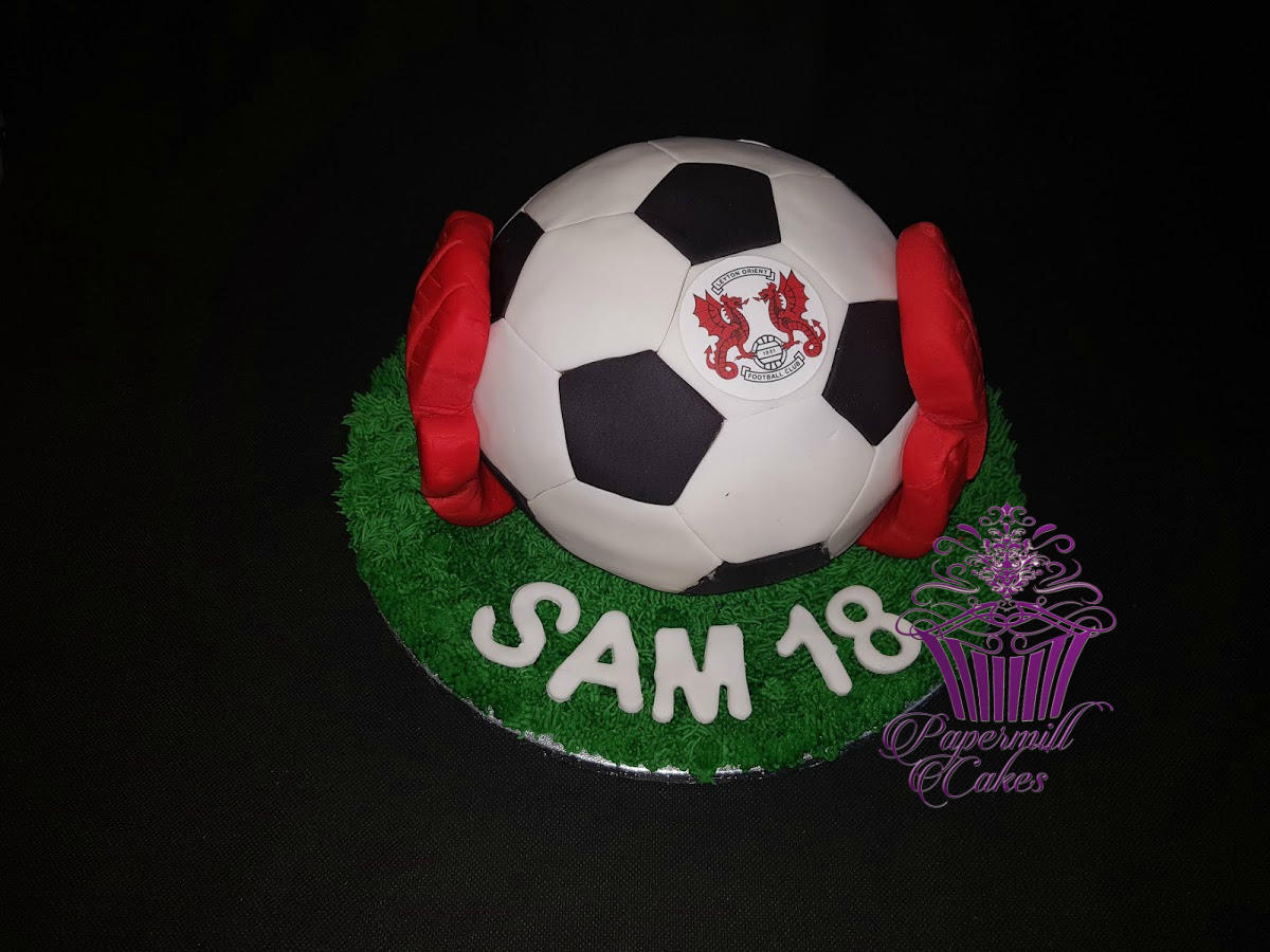 Sphere Football Cake