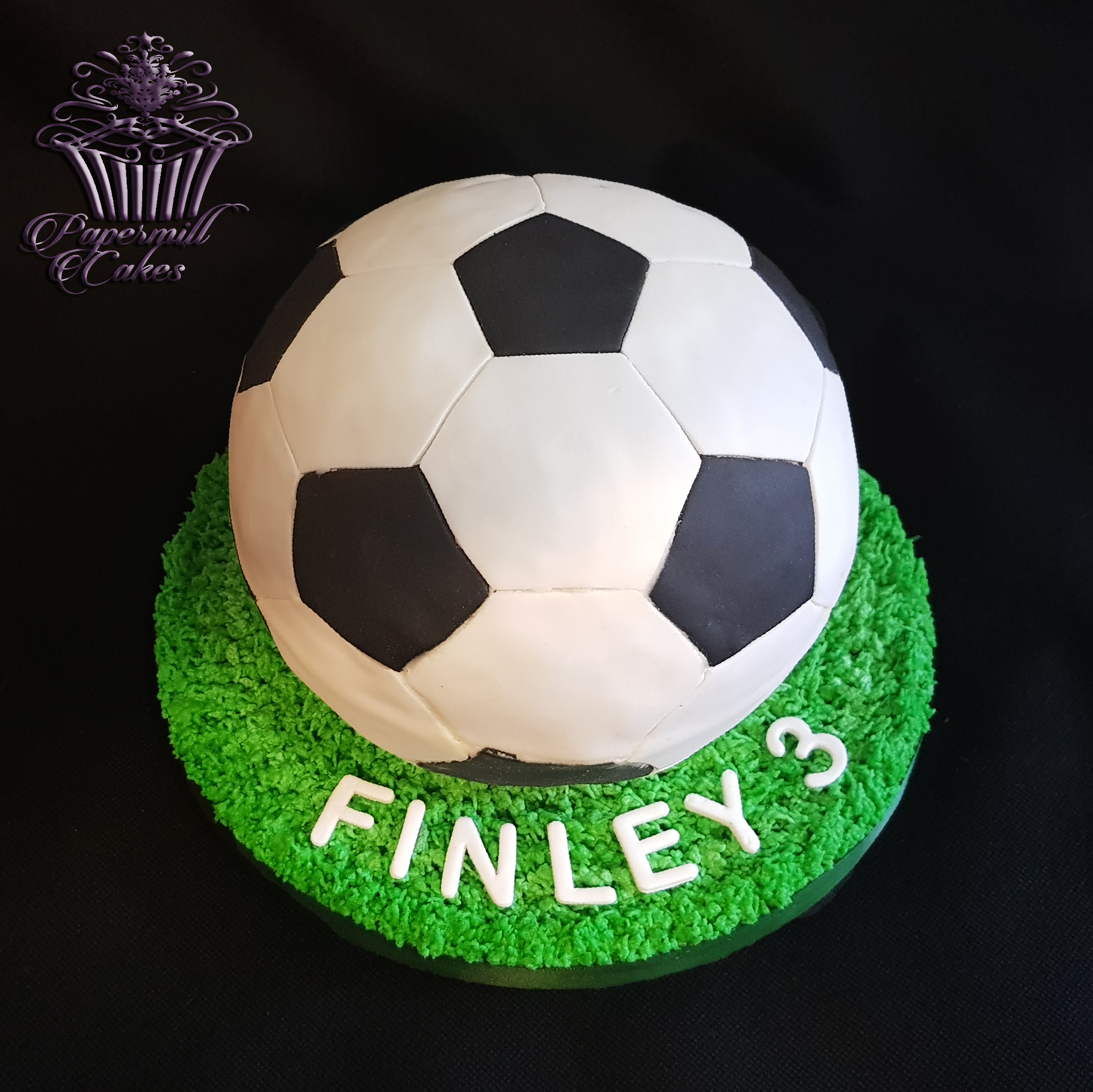 Football Sphere Cake