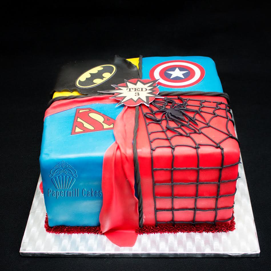 BIGsuperhero cake