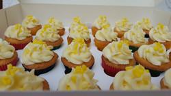 Lemon Crunch Cupcakes