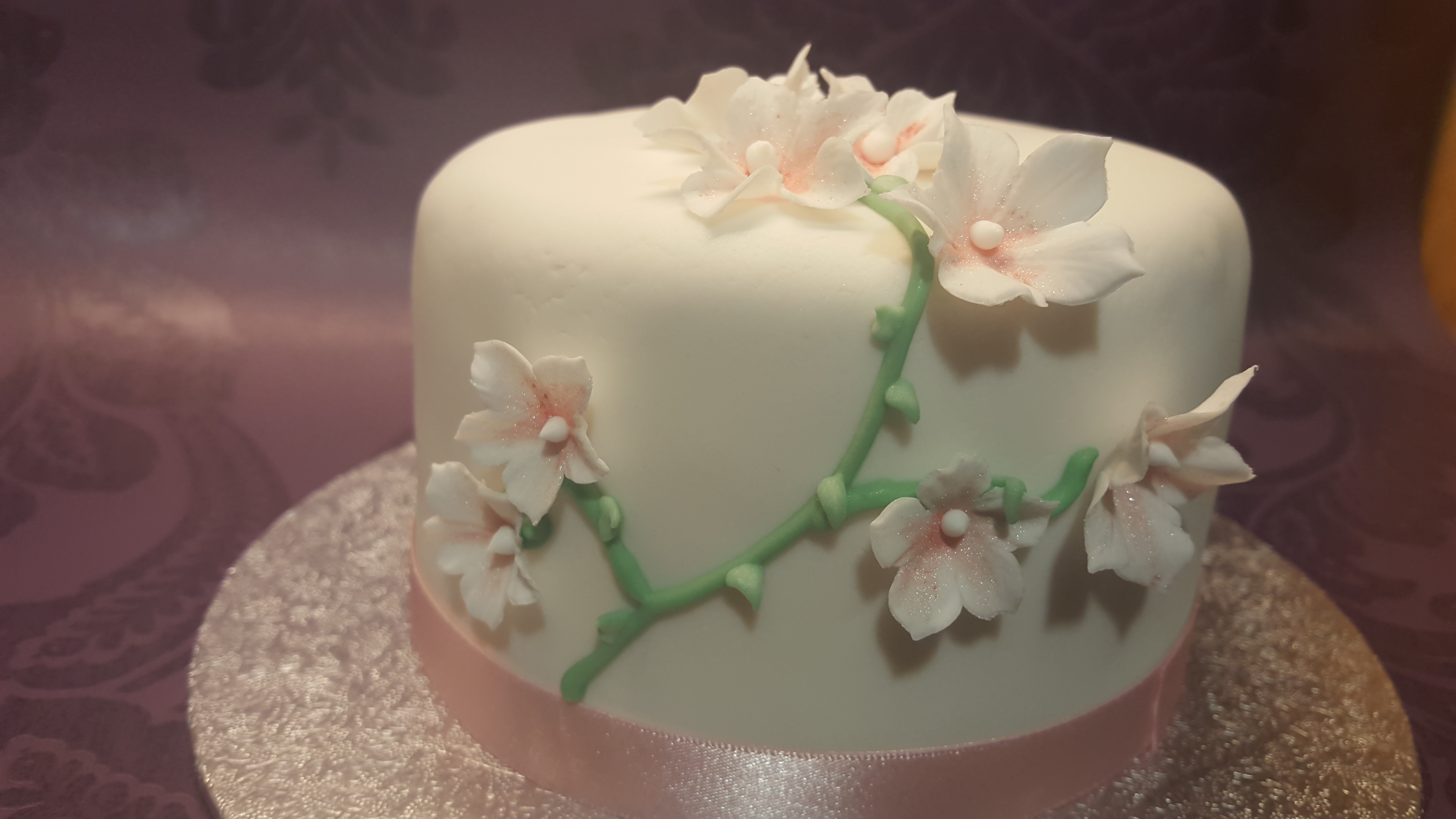 Flower Themed Cake
