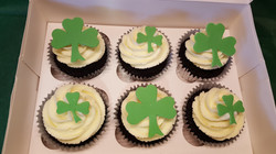 St Patrick's Day Guinness Cupcakes