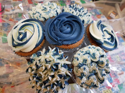 Cupcake Bouquet Blue