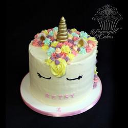 Unicorn Rainbow Layer Cake