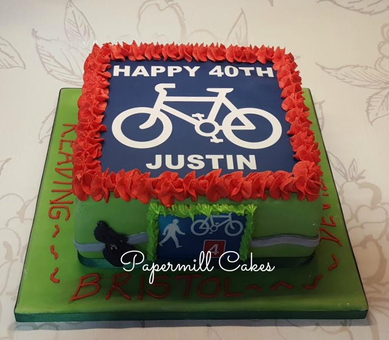 Bicycle Edible Print