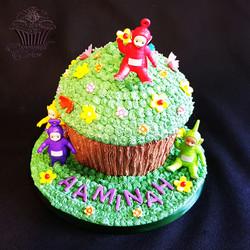 Teletubbies Giant Cupcake