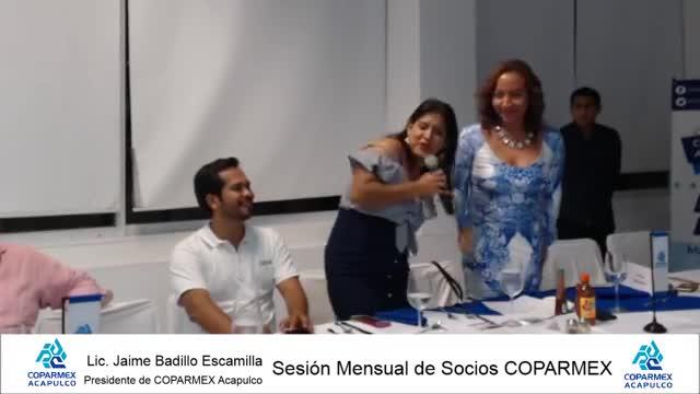 Sesión Mensual de Socios COPARMEX Acapulco