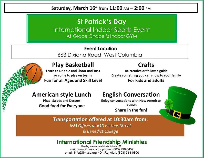 Indoor International Sports Event 2019 f