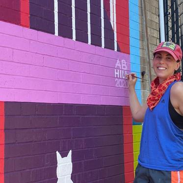 BMP Staff Spotlight | Amanda Hill: Grant Writer, Visual Artist, Muralist