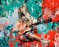 La guitariste