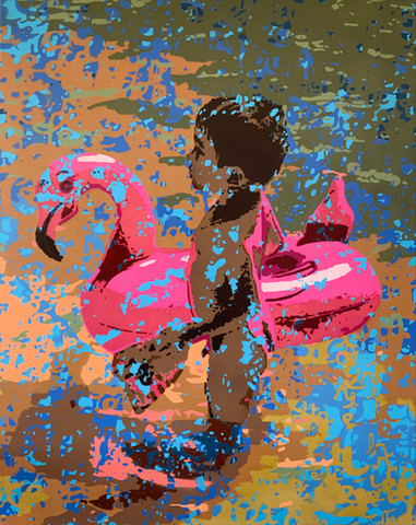 Ma bouée rose