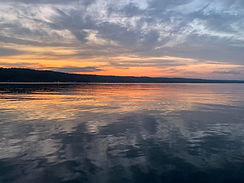 Sunset on Conesus Lake