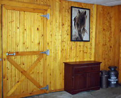Entrance to the stables