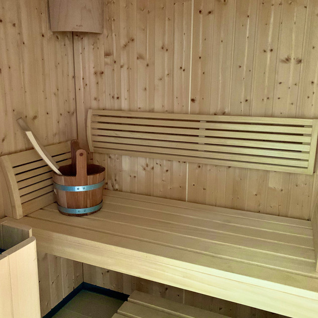 Sauna für 2 Personen