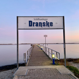 Schiffsanleger in Dranske