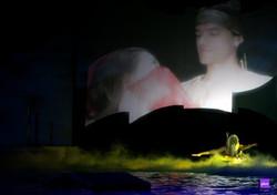 Rodrigo Rodrigues plays Sinbad in the Musical water Show Sinbad. Uk Tour.,,.