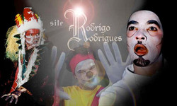 Theatre work 1999 Brazil. Rodrigo has worked in theatre as a actor, Director and Producer from early