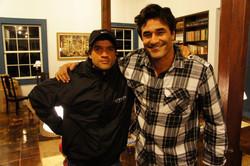 Film Ódio, Rodrigo Rodrigues and Luciano Szafi sharing the character Nestor_