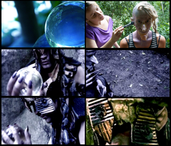 Digital and Make up Effects. Film Pilot Curupira. Written, Produced and Directed by Rodrigo Rodrigue