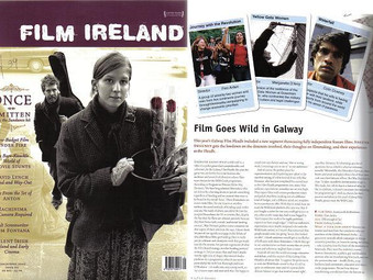 Galway International Film Festival. Rodrigo stars in the lead role of Luis at the festival.