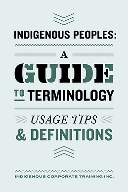 Indigenous Peoples A Guide to Terminolog