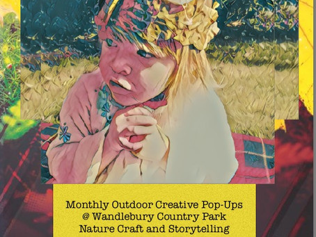 New Monthly Outdoor Craft and Storytelling sessions @ Wandlebury Country Park
