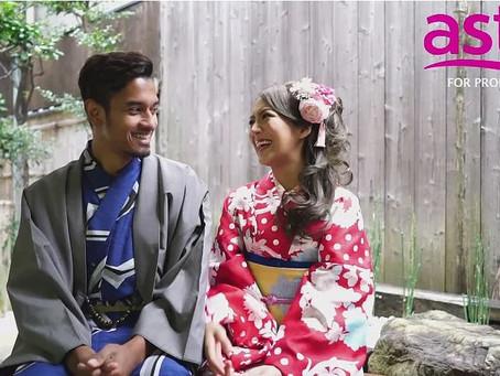 """รายการ""""โรแมนติก""""ชื่อดังของมาเลเซียได้มาถ่ายทำและเช่าชุดกับร้านยูเมะยะกาตะสาขาโออิเกะ"""