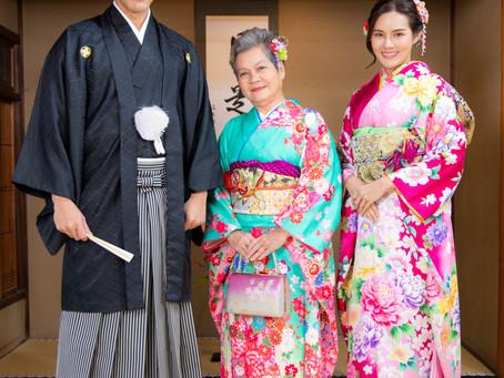 ทางร้านได้รับเกียรติให้บริการคุณหญิง รฐา เช่าชุดกิโมโนแบบพรีเมี่ยมที่สาขาโออิเกะ