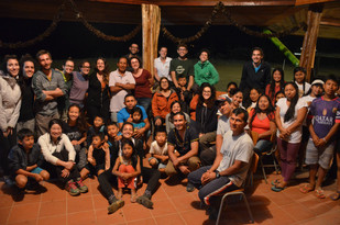 """I volontari della """"Casa Bonuchelli"""" in comunità"""
