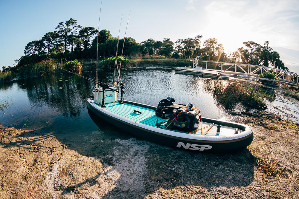 Paddleboard for fishing photo by Greg Panas