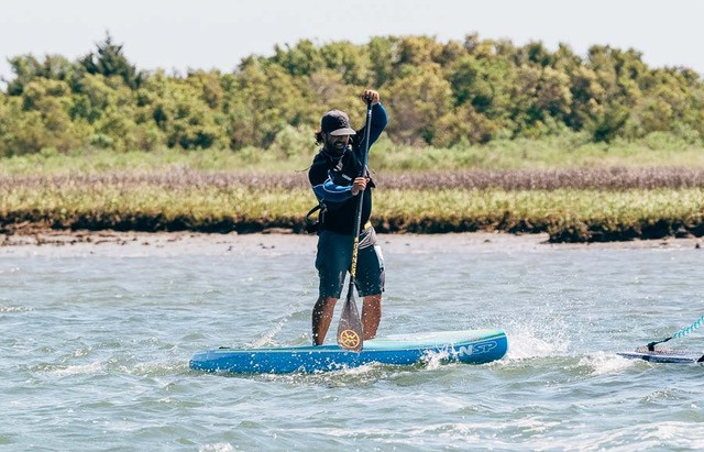Overcome the Mind and Paddle Faster.