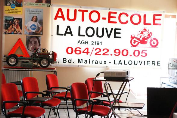 Auto école La Louve