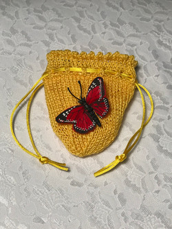 Delicate Butterfly Pouch