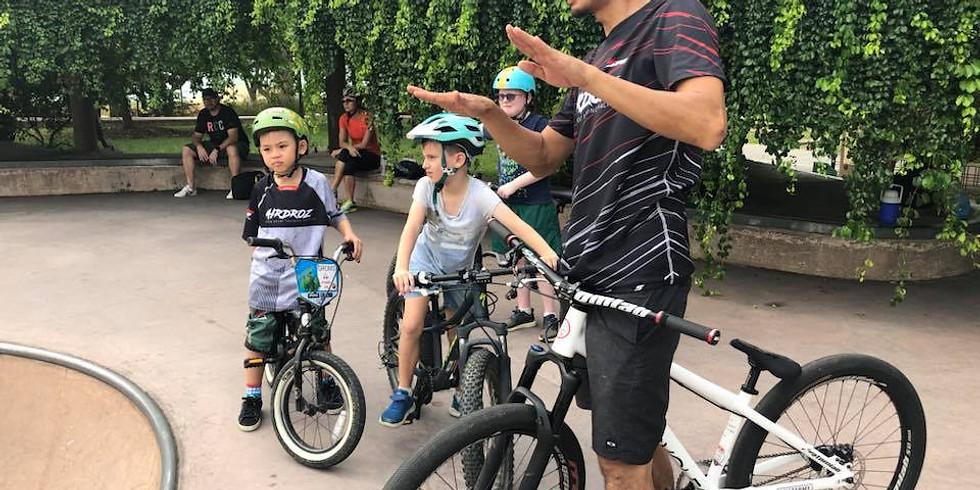 Kids Bike Skills Classes Age 6-12Yrs