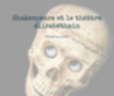 stage sur Shakespeare et le théâtre Elisabéthain de Broutille