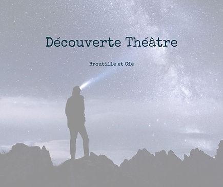 Stage de découverte du théâtre par Broutille et Cie