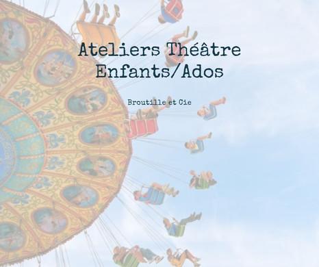Ateliers théâtre enfants et adolescents