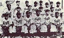 Hinchcliffe Newark Eagles 1946 team phot