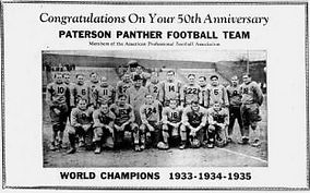 Hinchliffe Paterson Panthers team photo.
