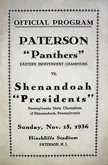Hinchliffe Paterson Panthers vs Shenando