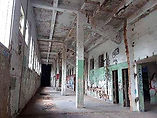 Hinchliffe Stadium restoration concourse July 2021.jpg