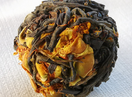 Our New Tea: Dragon Pearl