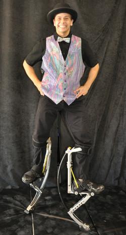 Purple vest costume